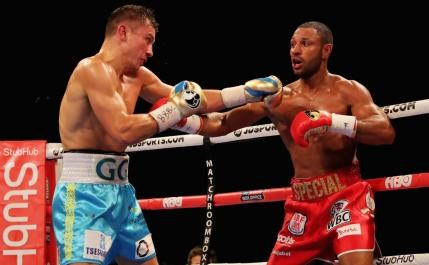 Gennady Golovkin l-a spulberat pe Kell Brook cu un KO in runda a 5-a