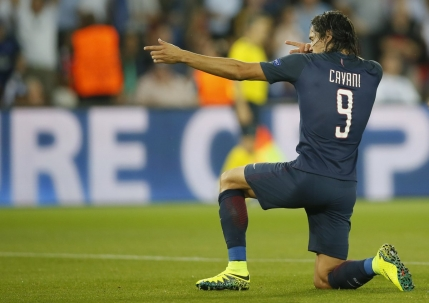 Poker reusit de Cavani pentru PSG in Ligue 1