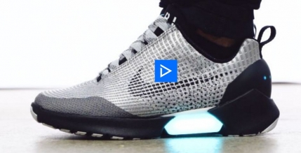 Nike lanseaza pantofii care se incheie singuri