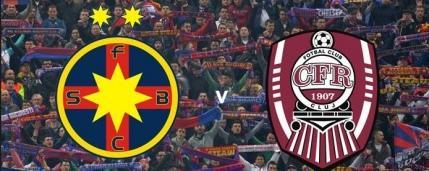 Steaua-CFR Cluj, meciul vedeta al etapei a 9-a din Liga 1