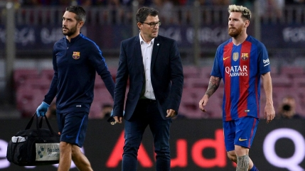 Lionel Messi, indisponibil in urmatoarele trei saptamani