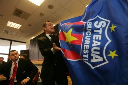 Marca Steaua scoasa la licitatie. Gigi Becali nu e interesat