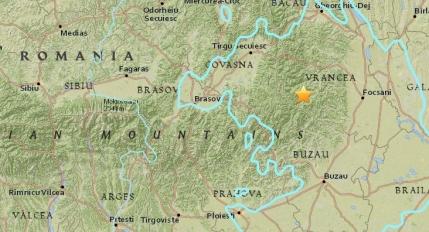 Cutremur de 5,6 grade (anuntat 6,1 grade) in Romania