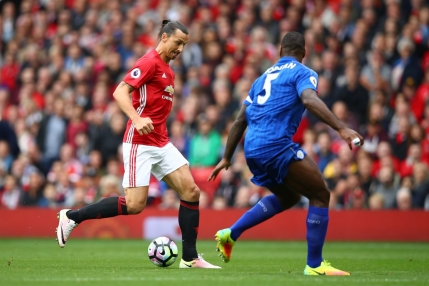 Manchester United o spulbera pe Leicester cu patru goluri intr-o repriza