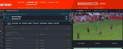 Vezi pe internet meciurile din Primera Division, Serie A, Bundesliga si Serie A