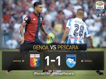 Alexandru Mitrita, primul meci ca titular in Serie A pentru Pescara