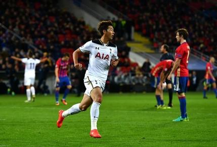 Un sud-coreean in mare forma aduce victoria pentru Tottenham la Moscova