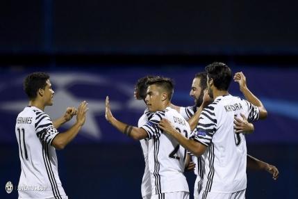 Juventus s-a distrat cu Dinamo Zagreb