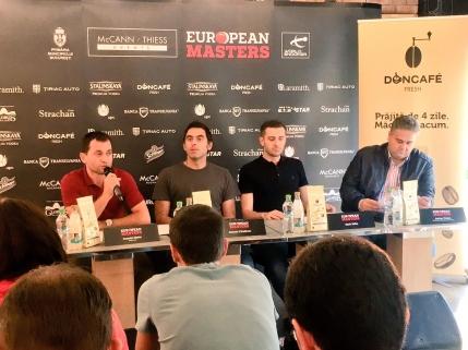 A inceput European Masters, primul turneu de snooker gazduit de Romania. Programul primei zile