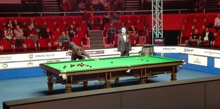 Racheta Ronnie O'Sullivan si-a luat viteza la European Masters si ajunge spectaculos in optimi