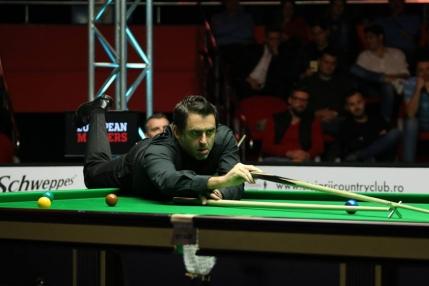 Ronnie O'Sullivan in semifinale la European Masters dupa primul break de peste 100 la Bucuresti