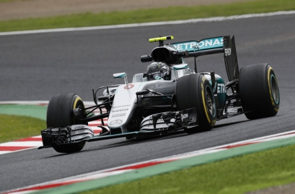 Nico Rosberg in pole position la Suzuka