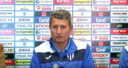 Multescu despre meciul cu Dinamo: Vom face tot ce este omeneste posibil pentru a castiga