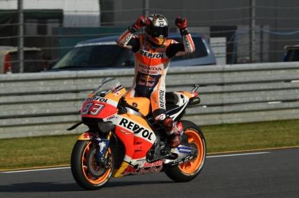 Marc Marquez castiga la Motegi si este noul campion mondial la MotoGP