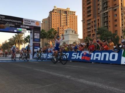 Peter Sagan, noul vechi campion mondial la ciclism