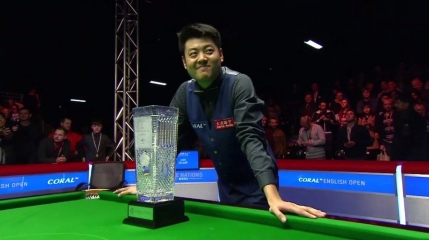Liang Wenbo il invinge pe Judd Trump in finala Openului Englez si se bucura ca un apucat (VIDEO)