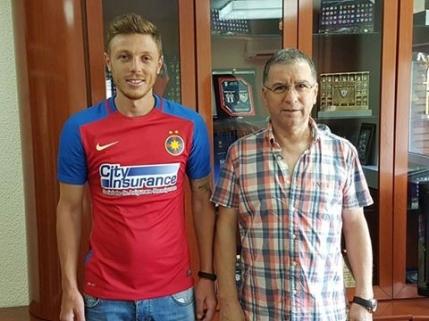 Mitrea a jucat pentru Steaua 2 in Liga a 3-a