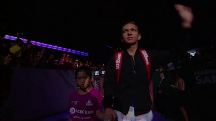 MINUT cu MINUT Simona Halep in primul meci la Turneul Campioanelor