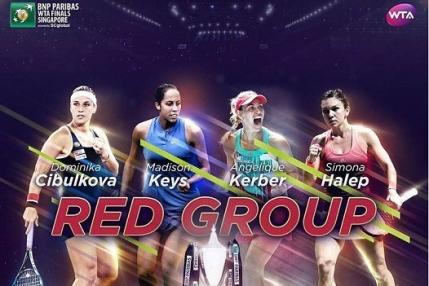 Angelique Kerber, testata de Dominika Cibulkova in primul meci la Singapore