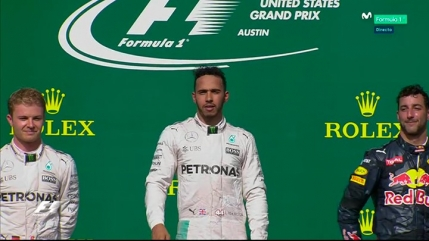 Hamilton castiga in Statele Unite si mentine suspansul pentru titlul mondial