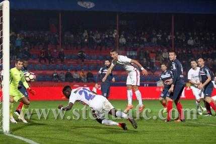 Steaua salveaza remiza la Targu Mures in minutul 90