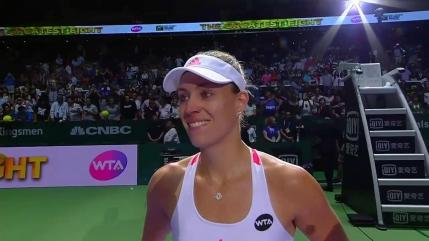 Angelique Kerber o invinge pe Madison Keys si o trage dupa ea in semifinale pe Dominika Cibulkova