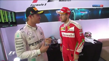 Vettel pierde la masa verde locul trei din Mexic (VIDEO)