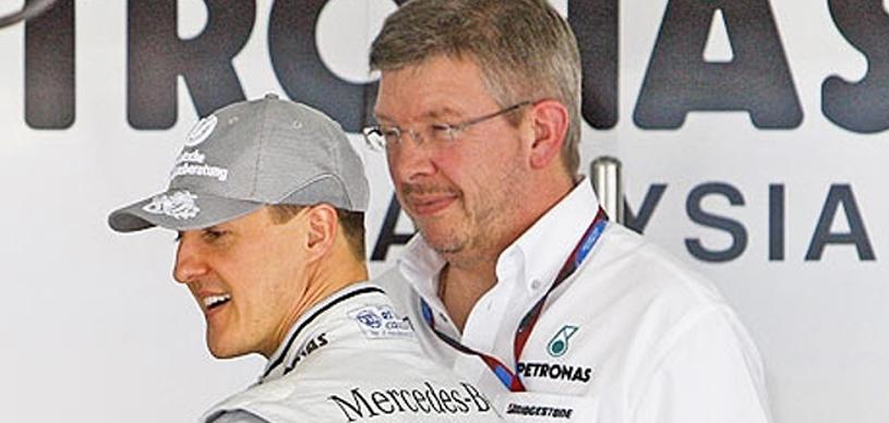 Semne incurajatoare despre starea de sanatate a lui Michael Schumacher