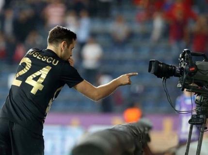Rusescu aduce victoria lui Osmanlispor cu Villarreal. N-are loc la echipa nationala!