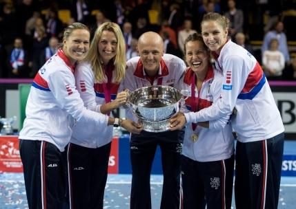 Cehia, campioana in Fed Cup pentru a 5-a oara in ultimii sase ani