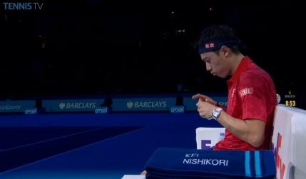 Nishikori, victorie categorica in fata lui Wawrinka la Turneul Campionilor
