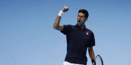 Djokovic, primul semifinalist la Turneul Campionilor