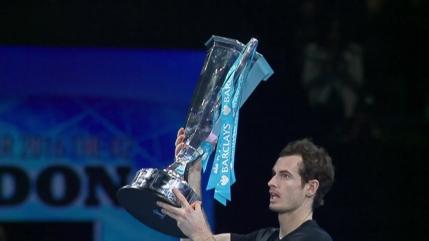 Murray castiga Turneul Campionilor in fata lui Djokovic