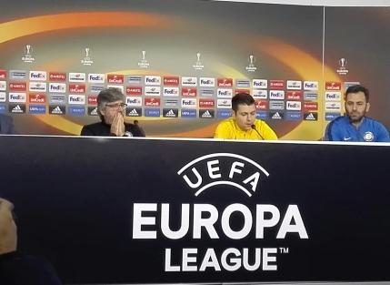 Rusescu inainte de Steaua-Osmanlispor: Am venit cu ganduri mari la Bucuresti (VIDEO de la antrenamentul oficial)