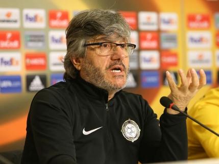 Antrenorul lui Osmanlispor a rupt usa la conferinta de la Arena Nationala