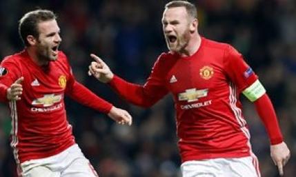 Rooney, cel mai bun marcator din istoria lui Manchester United in cupele europene