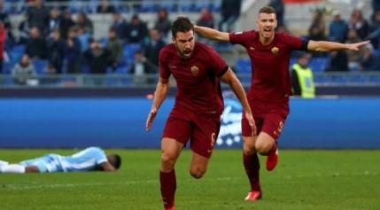AS Roma castiga derby-ul capitalei Italiei cu Lazio inainte de venirea in Romania