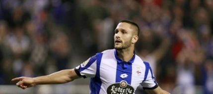 Florin Andone, dezlantuit. A reusit prima dubla pentru Deportivo