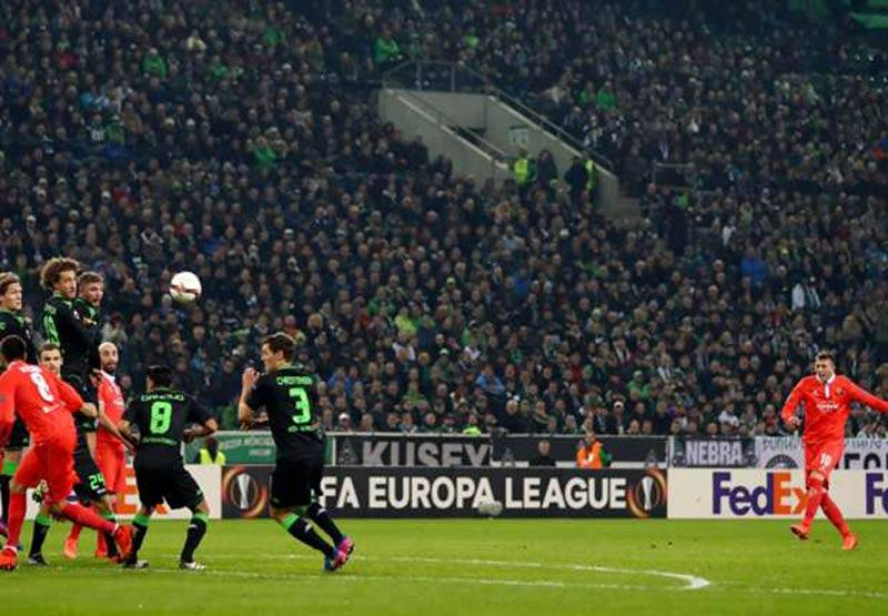 Golul serii in Europa League (video)