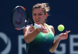 Asa am trait Halep - Konta in sferturi la Miami