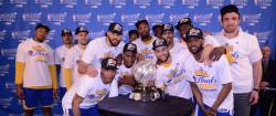 Golden State Warriors, prima finalista a NBA