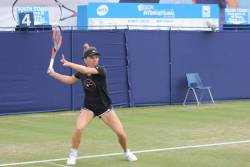 Asa am trait Simona Halep in turul 2 la Eastbourne