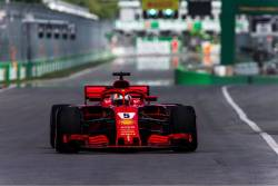 Vettel in pole position la Montreal
