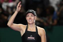 Kerber revine in carti la Singapore