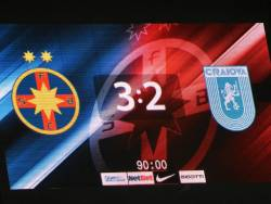 Asa am trait FCSB - Craiova 3-2 in playoff