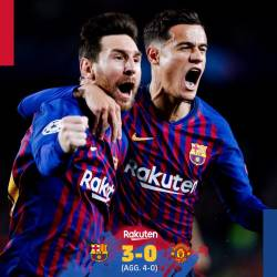 Barcelona, victorie categorica cu Manchester United pe Nou Camp