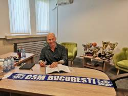 CSM Bucuresti are un nou antrenor