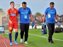 Noua accidentati la FCSB. Cat sta pe bara Dennis Man