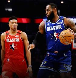 Echipa lui LeBron James s-a impus in All Star Game