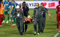 Florin Andone s-a reaccidentat